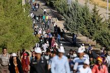 همایش پیاده روی صبحگاهی در قزوین برگزار شد