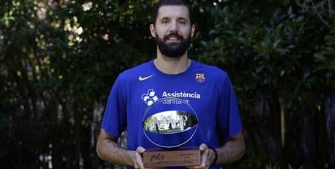 ارزشمندترین بازیکن لیگ بسکتبال اسپانیا معرفی شد