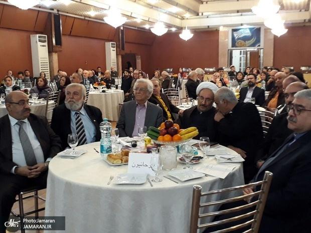 دیدار علی یونسی با آشوریان تهران
