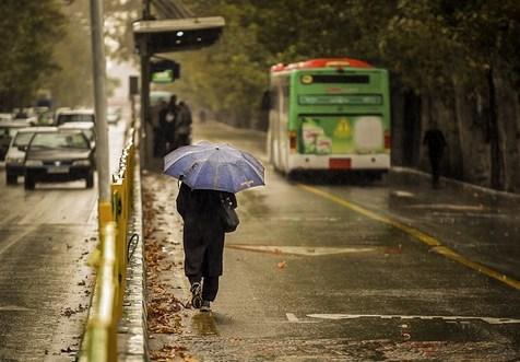 احتمال بارش باران در تهران از بعداز ظهر امروز