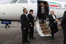 معاون رئیس جمهوری وارد شیراز شد