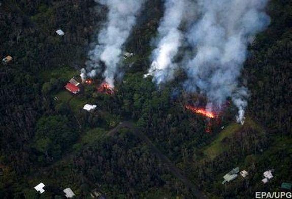 جریان گدازهها در هاوایی + تصاویر هوایی