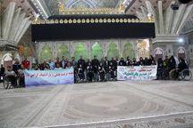 ورزشکاران کمیته ملی پارالمپیک با آرمانهای امام خمینی(س) تجدید میثاق کردند