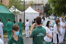اعتراض عجیب کادر پزشکی در بلژیک