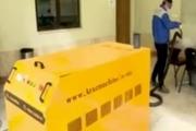 ساخت دستگاه ضد عفونیکننده با  بخار در تبریز
