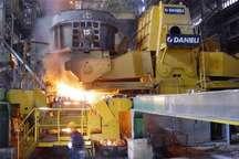 ارسال نخستین محموله صادراتی فولاد خام از شرق کشور به امارات
