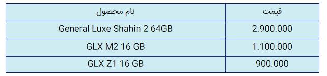 قیمت روز گوشی موبایل در بازار 3 خرداد 99