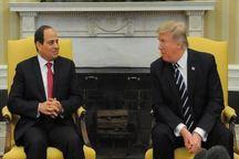 ترامپ و رئیس جمهور مصر در واشنگتن دیدار میکنند