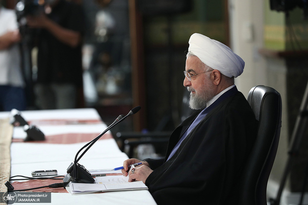 روحانی: هیچ کشوری با آمریکا نیست؛ مکانیزم ماشه شروع نشد تا به نتیجه برسد