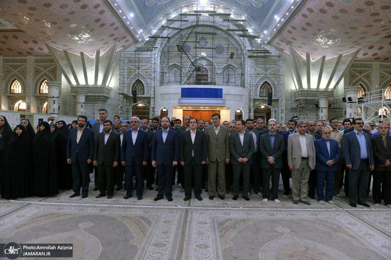 تجدید میثاق مدیران و کارکنان وزارت کشور با آرمان های حضرت امام(س)