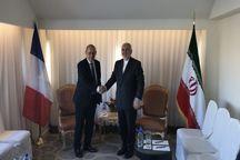 دومین دیدار وزیر خارجه فرانسه با ظریف در روزهای اخیر