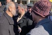 عکس/ خوش و بش علی ربیعی و فرمانده کل سپاه در حاشیه راهپیمایی یوم الله 22 بهمن