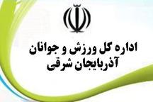 مقام نخست ستاد ساماندهی امور جوانان آذربایجان شرقی در کشور