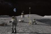سفر نخستین زن فضانورد به کره ماه