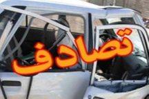 5 مصدوم در حادثه تصادف اشتهارد