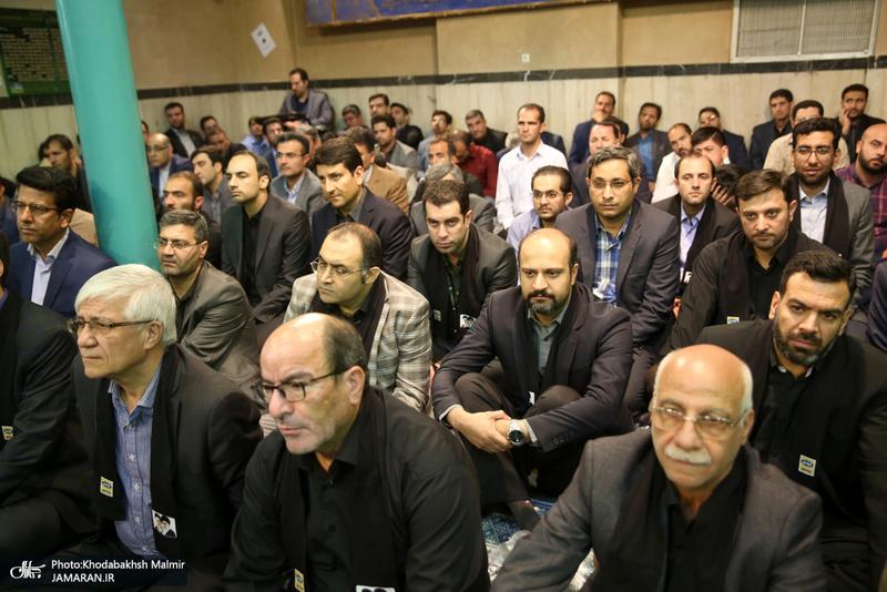 تجدید میثاق وزیر، معاونان و کارکنان وزارت ارتباطات و فناوری اطلاعات با آرمان های امام خمینی(س)