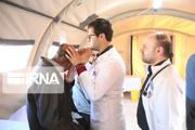 ۱۷۴۹ بیمار در درمانگاه تخصصی صحرایی عسلویه ویزیت شدند