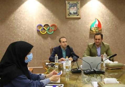 جلسه آنلاین فخری با مسئولان کمیته برگزار کننده بازیهای المپیک توکیو