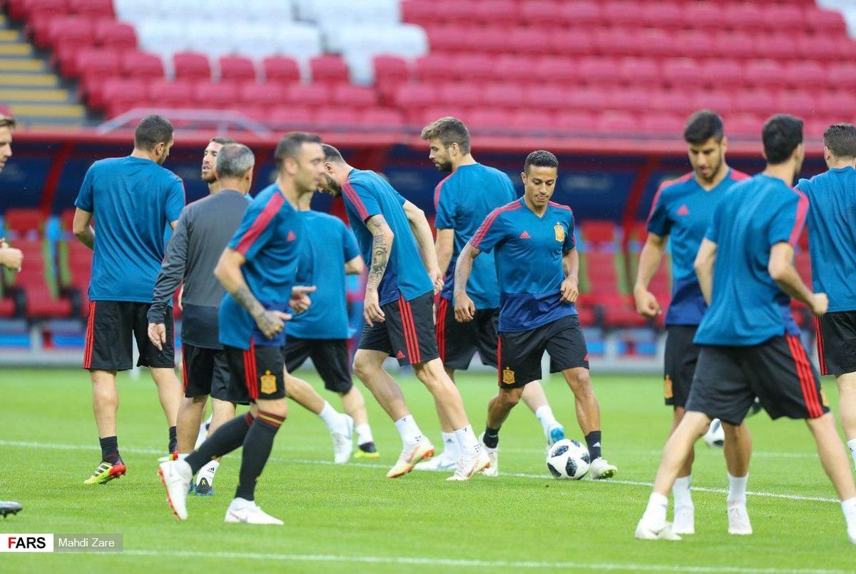 هیچ رئالی در لیست تیم ملی اسپانیا نیست