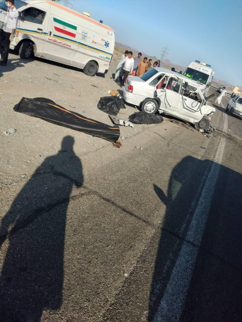 تصادف در جاده سرباز