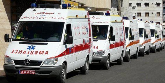 برخورد مرگبار یک خودرو با سه کارگر شهرداری تهران