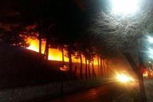 10 نفر ازآتش سوزی مجتمع کارگاهی درجنوب تهران نجات یافتند