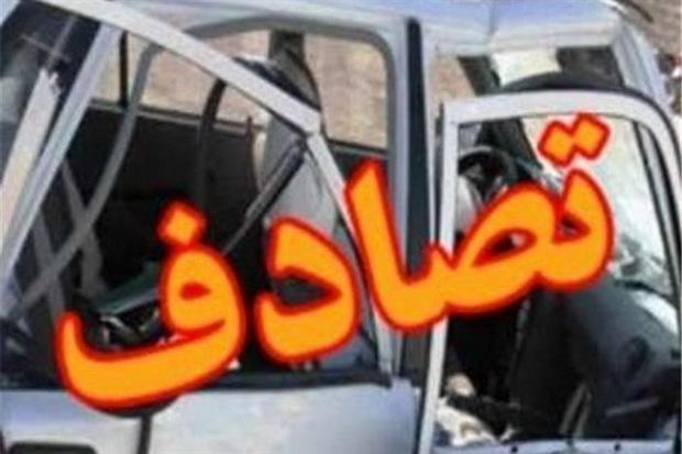 تصادف در آزادراه قزوین-زنجان یک کشته داشت