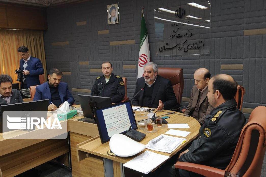 استاندار کردستان: رفع مشکلات و افزایش ایمنی راهها اولویت باشد