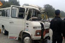تصادف در محور سنندج - کامیاران ۹ مصدوم بر جا گذاشت