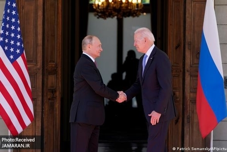 درگیری پشت درهای محل دیدار پوتین و بایدن+ تصاویر