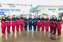 هرمزگان مقام سوم والیبال دختران قهرمانی کشور را کسب کرد