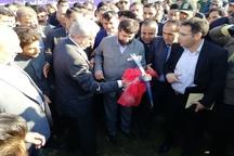 عملیات اجرایی سد تراز لالی توسط وزیر نیرو آغاز شد