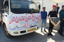 محموله امدادی زندان های آذربایجان غربی به مناطق سیل زده ارسال شد