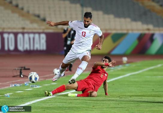محمدحسین کنعانی زادگان ایران سوریه مقدماتی جام جهانی 2022