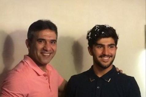 عکس/ پست جالب عابدزاده در تمجید از عملکرد پسرش