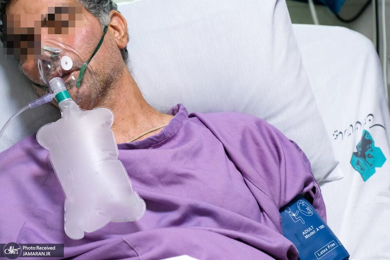 منتخب تصاویر امروز جهان- 20 مرداد 1400 - بیمار کرونایی در ایران