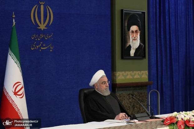 روحانی: دولت آمریکا اشتباهات دولت آن دیوانه را جبران کند