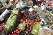 ۶ هزار کیلوگرم مواد غذایی تاریخ گذشته در شیراز نابود شد