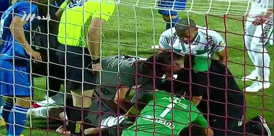 مهدی رحمتی و مهمترین سیو دوران فوتبالش