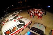 برگزاری مانور صفر توسط جمعیت هلال احمر آذربایجانغربی