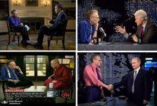 مردی دارای 8زن و 50هزار مصاحبه؛ مشهورترین و جالب ترین مجری خبری جهان را بشناسیم+ تصاویر