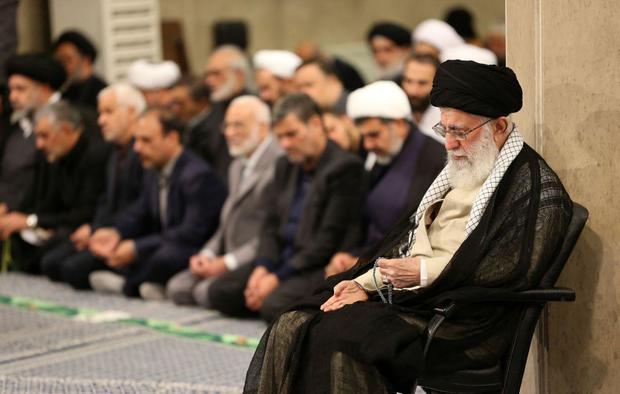 اولین روز از مراسم سوگواری حضرت امیرالمؤمنین علیهالسلام در حسینیه امام خمینی