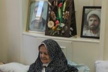 مادر شهیدان ردانی پور به فرزندان شهیدش پیوست