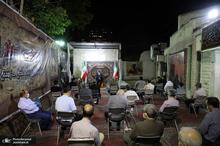 مراسم هیات رزمندگان شهدای تخریب در حسینیه شهید احمدلو