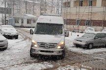 امدادرسانی به ۱۰۳ مصدوم حوادث برف گیلان ۸۳۶ ماموریت انجام شد