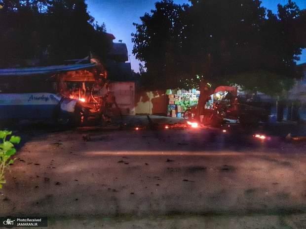 انفجارهای کابل این شهر را در تاریکی فروبرد+ تصاویر
