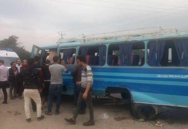 تصادف در جاده بن جعفر دزفول 16 مصدوم برجا گذاشت