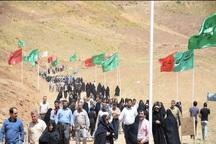 9000 نفر از مناطق عملیاتی دفاع مقدس مهاباد بازدید کردند