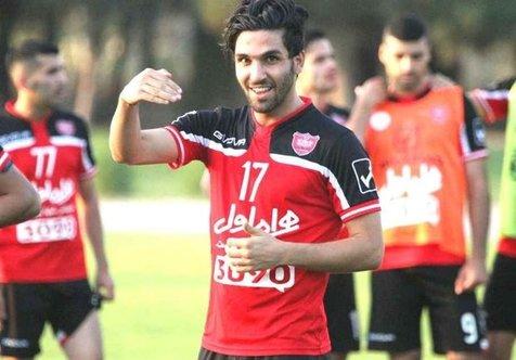 خداحافظی ساسان انصاری از هواداران تراکتور