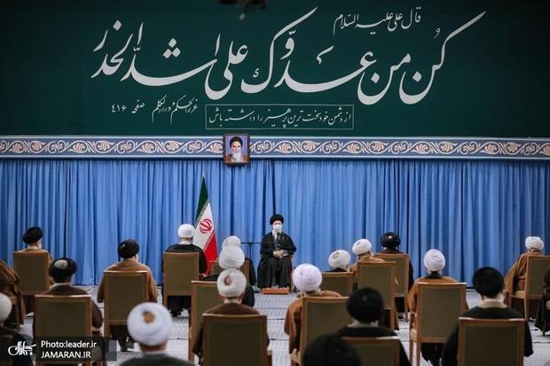 نظر رهبر معظم انقلاب در مورد اختلاف بین مجلس و دولت درباره ماجرای توافق با آژانس اتمی + فیلم